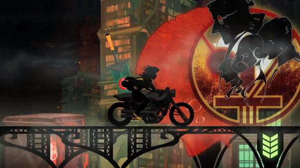 transistor screenshot motorcycle