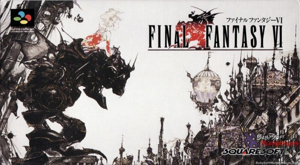 Final Fantasy 6 Cover Art